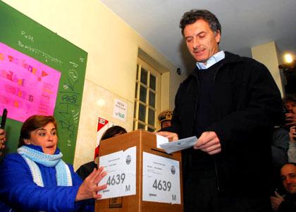 Macri ganó en la Ciudad.