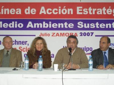 El Dr. Julio Zamora, titular del PAMI para el conurbano norte, fue el anfitrión de la presentación del Plan Ambiental del Frente para la Victoria de Tigre.