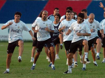 Con todas sus figuras Argentina debuta en la Copa América ante Estados Unidos