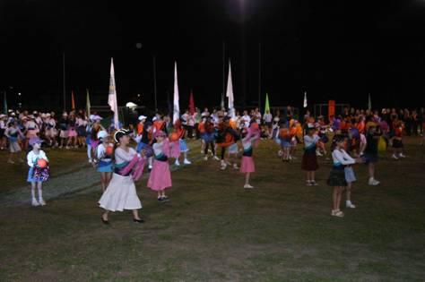 Segundo encuentro de gimnasia infantil en San Isidro