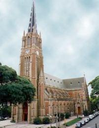 Encuentran la piedra basal de la Catedral de San Isidro