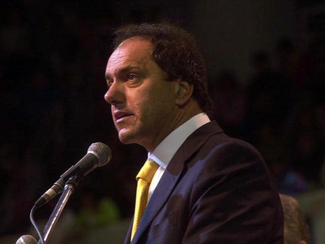 vicepresidente Daniel Scioli