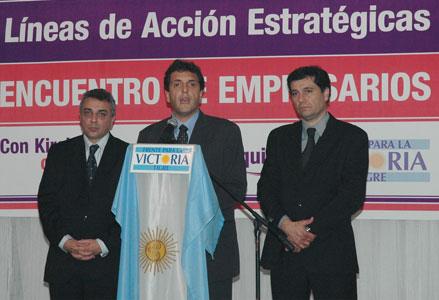 El Frente para la Victoria Presentó sus propuestas ante empresarios de Tigre