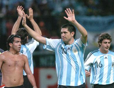 Argentina es semifinalista y sueña con el título.