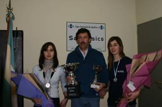 Tres de febrero se llevó el torneo de ajedrez femenino jugado en San Isidro