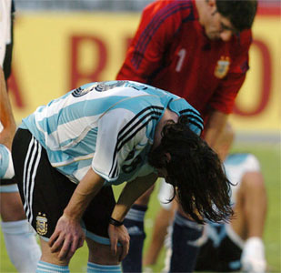 Brasil destrozó a Argentina que se olvido de todo lo hecho.
