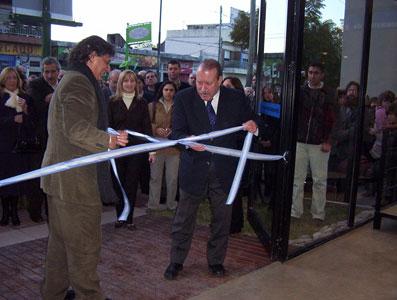 El Intendente de San Fernando, Osvaldo Amieiro, y el Rector de la Universidad Nacional de General Sarmiento, Silvio Feldman, inauguraron el Centro Universitario Municipal