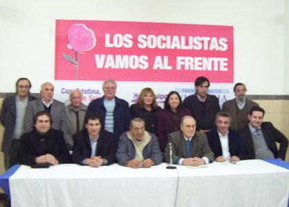 El Partido Socialista de Tigre formalizó su apoyo al Frente para la Victoria
