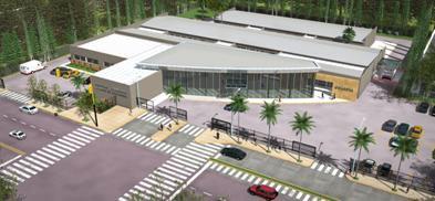 Continúa la ampliación del hospital ciudad de Boulogne