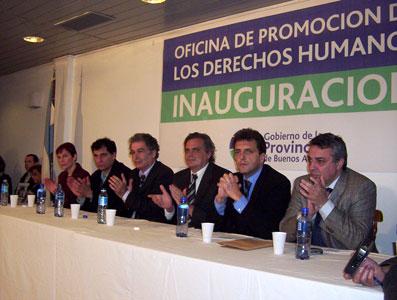 Inauguraron una  oficina de derechos humanos en Pacheco