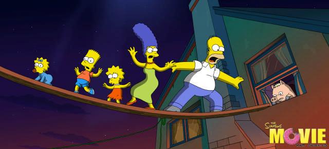 Los Simpsons La película llegará este jueves a los cines