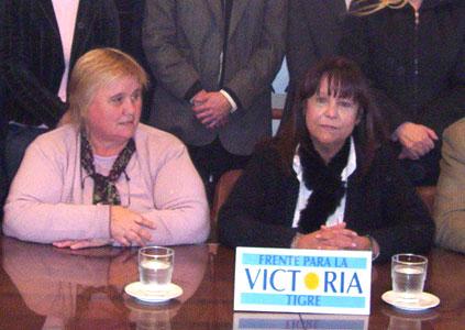 Marta Vega y Rita Vivas