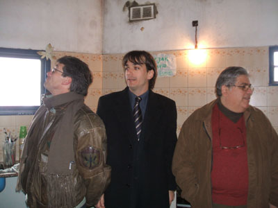 Sebastián Galmarini recorrió el Barrio Obrero