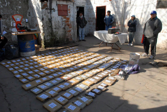 Secuestran 200 kilos de marihuana en villa la Cárcova