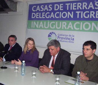 Se inauguró la oficina de Casa de Tierras de Tigre