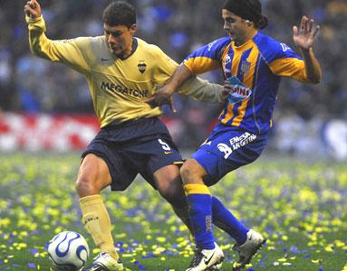 Boca empató con Central en La Bombonera.