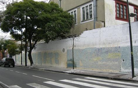 Sancionan a la lista de Juan Estanciero por pintadas en la vía Pública