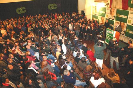 Acción Comunal presentó la lista de Concejales y Consejeros Escolares para las elecciones de octubre