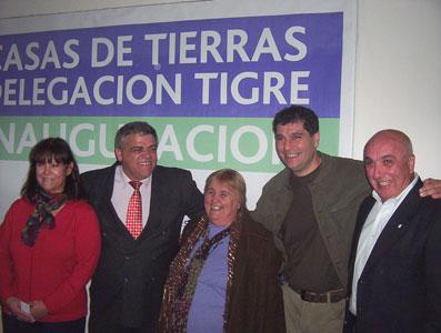 Antoio Grandoni, junto a Gambini, Vega, Ulpiano y Vivas