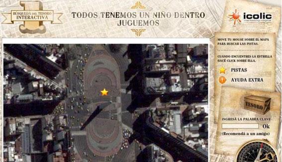 Por el día del niño, se lanzó la búsqueda del tesoro a través del Google Maps
