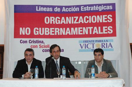 Encuentro de ONGs en Tigre
