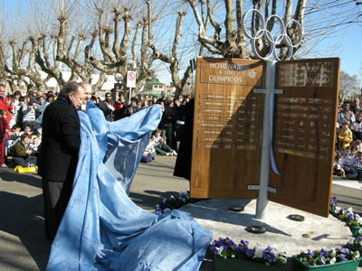 San Fernando homenajeó a los deportistas olímpicos