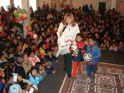 El Frente para la Victoria de Tigre celebró el día del niño