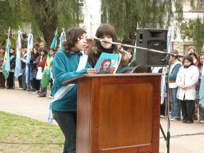 Reflexivo homenaje al libertador don José de San Martín en San Fernando