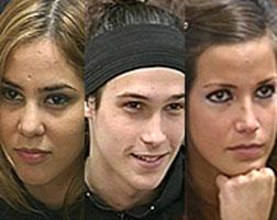 Eugenia, Cynthia y Juan Simón son los nuevos nominados de Gran Hermano 5