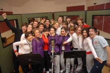 Los participantes de High School Musical: La selección grabaron un disco