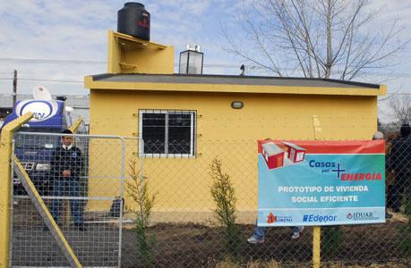 vivienda del proyecto Casa por + energía que lleva adelante Edenor