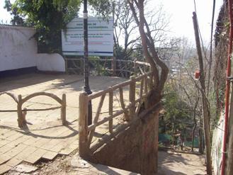 Comenzó la restauración de otro tradicional pasaje en las barrancas de San Isidro