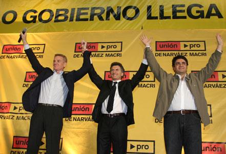 De Narváez y Jorge Macri presentaron su candidatura