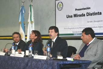 Presentaron en San Isidro una oficina para personas con capacidades diferentes