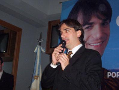Galmarini lanzó su candidatura por el Frente para la Victoria en San Isidro