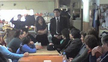 Daniel Gambino se reunió  con familiares y personas con capacidades diferentes de Don Torcuato para otorgar viajes de turismo social