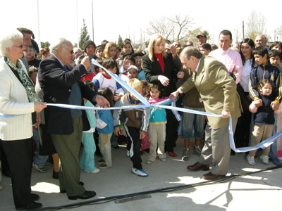 Inauguraron el Parque del Bicentenario de San Fernando