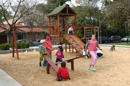 Inauguraron la remodelación de la Plaza Roca, en Beccar