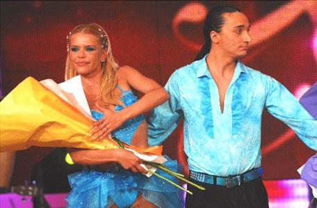Nazarena Vélez fue eliminada de Bailando por un Sueño 2007