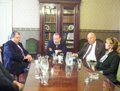 Amieiro recibe el apoyo de importantes dirigentes de la UCR de San Fernando