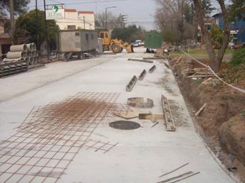 Notorios avances en las obras de ensanche y repavimentación de la Avenida Sucre