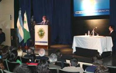 Posse y Arroyo encabezaron entrega de financiamiento a microemprendedores y de pensiones asistenciales