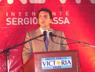 Massa llevó sus propuestas a Benavidez