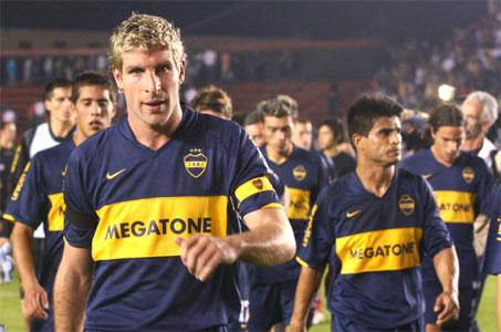 Colón venció a Boca en tiempo de descuento.