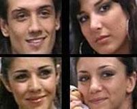 Darío, Andrea, Mariana y Soledad, nominados en Gran Hermano 5
