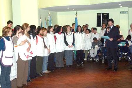 El intendente de San Isidro, Dr. Gustavo Posse, presidió esta mañana la conmemoración del Día del Maestro