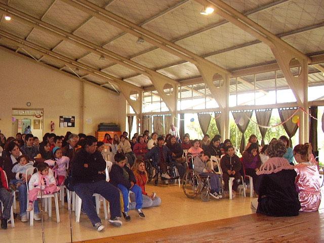 Se festejo del día del niño para los chicos con discapacidad en Tigre