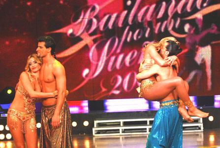 Claudia Fernández y Maxi Diorio quedaron afuera de Bailando por un sueño