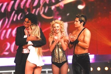Rocío Guirao Díaz y Nicolás Villalba fueron eliminados en Bailando por un sueño