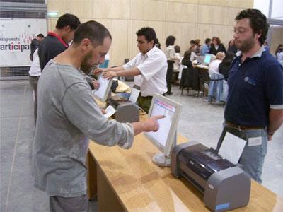 Extranjeros de cuatro distritos usaran voto electrónico